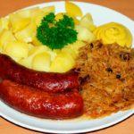 plato aleman con chucrut