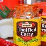 curry rojo para pollo thai